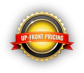 Up Front Pricing Badge